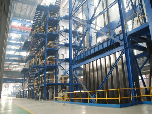 热镀铝锌生产线