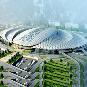 A2防火铝金属复合板应用-大型会展中心