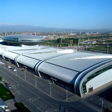 a2防火铝金属复合板应用-大型会展中心3