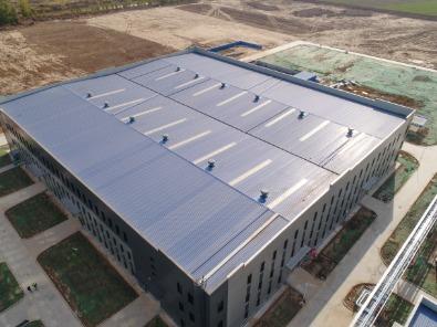 纳米隔热防腐彩涂板应用工程案例-酸洗厂
