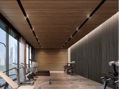 A2级防火金属印花压花复合板机场航站楼应用案例-河北蓝天U+装饰板品牌