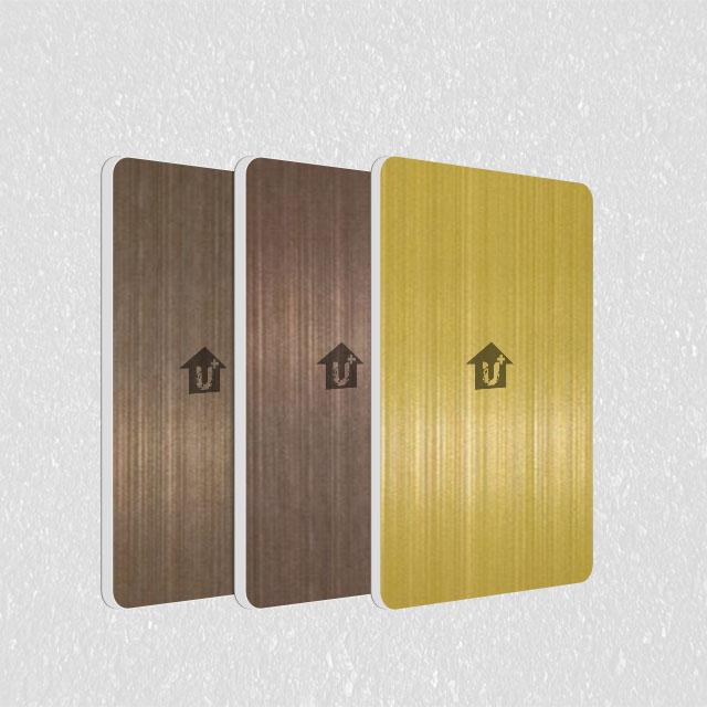 a2金属拉丝防火板-不锈钢复合板不燃级-河北蓝天U+装饰板品牌厂家