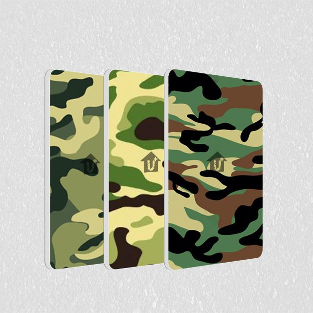 A2级防火金属铝复合板-迷彩印花系列