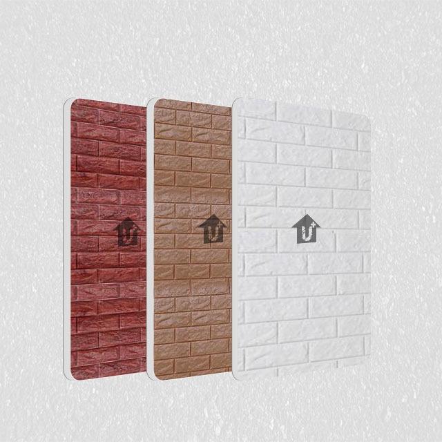 A2级防火金属钢复合板-印花砖型系列