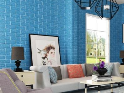 A2级防火金属铜复合板-河北蓝天U+装饰板品牌-砖纹内墙装饰厂家