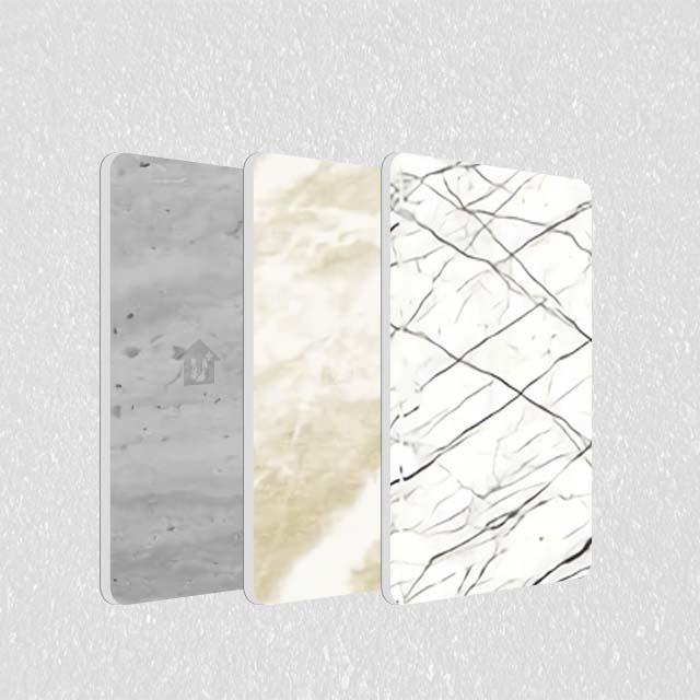 A2级防火金属铝复合板-冷热覆膜理石纹系列
