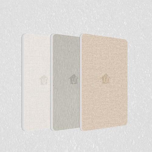 a2金属防火板-印花布纹压花复合板不燃级-河北蓝天U+装饰板品牌厂家