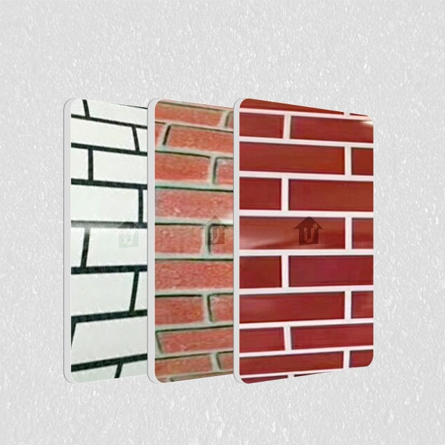 A2级防火金属钢复合板-冷热覆膜砖型系列