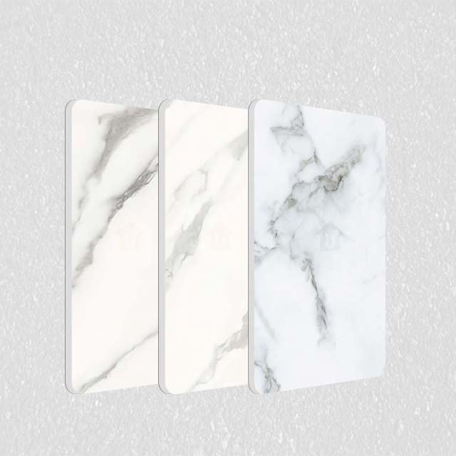 A2级防火金属钢复合板-冷热覆膜理石纹系列