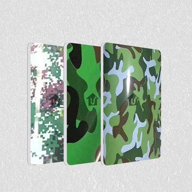 A2级防火金属钢复合板-迷彩印花系列