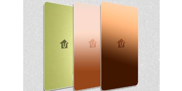 金属装饰彩铝板-河北蓝天U+装饰板品牌镀铜腐蚀厂家价格批发