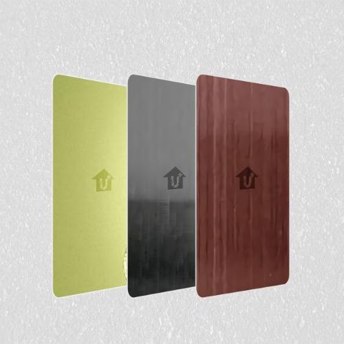 装饰金属彩涂彩钢铝卷板-镜面系列-河北蓝天U+装饰板品牌耐蚀耐划厂家价格批发喷砂
