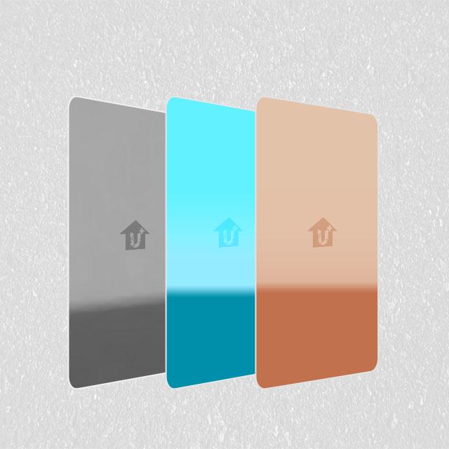 装饰金属彩涂彩钢铝卷板-镜面系列-河北蓝天U+装饰板品牌耐蚀耐划厂家报价供应