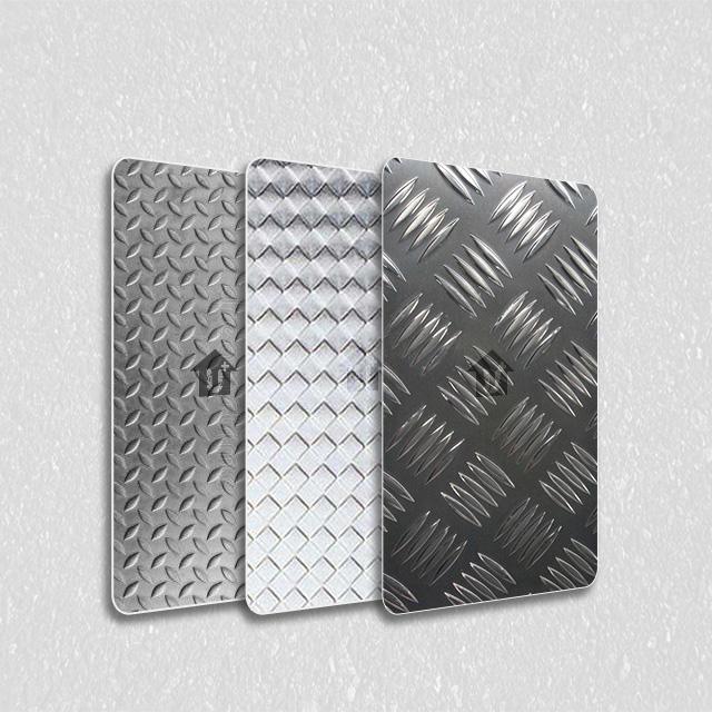 金属装饰压花板-三角纹系列