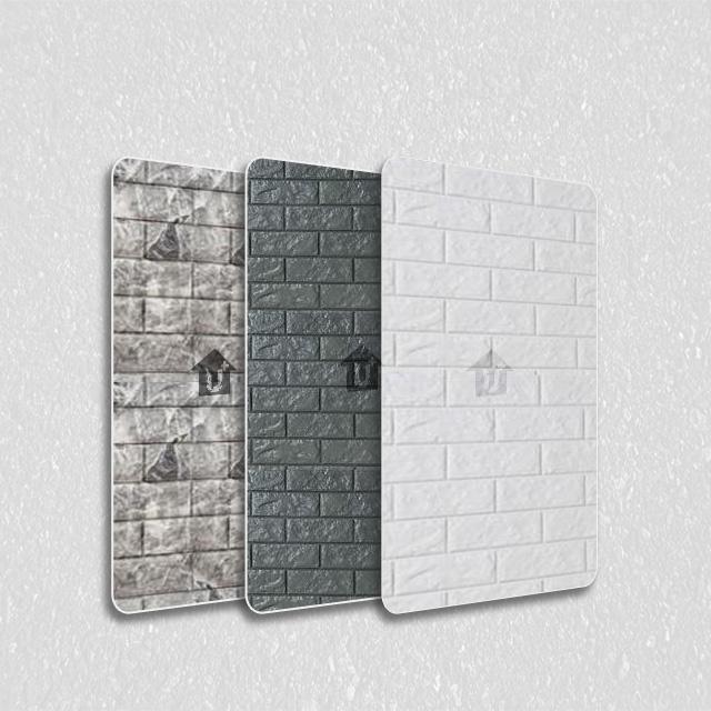 金属装饰压花板-砖型纹系列
