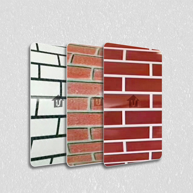 金属装饰印花板-砖型纹系列