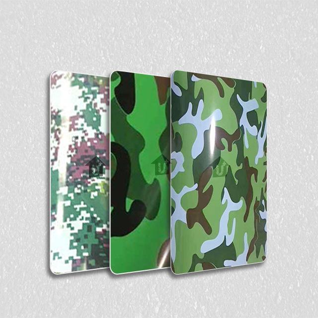金属装饰印花板-迷彩纹系列