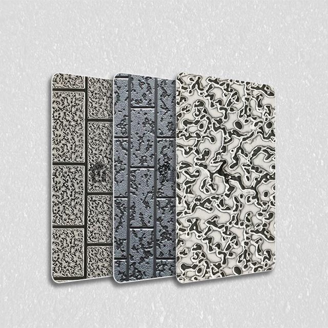 金属装饰雕花板-砖型纹系列