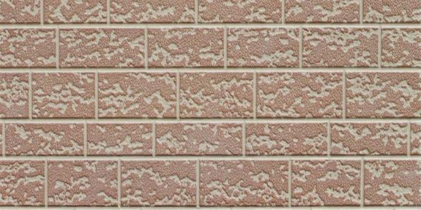 金属装饰雕花板-砖型纹系列-河北蓝天是国标金属印花涂覆膜彩涂单板复合板室内外墙面幕墙装饰彩板厂家