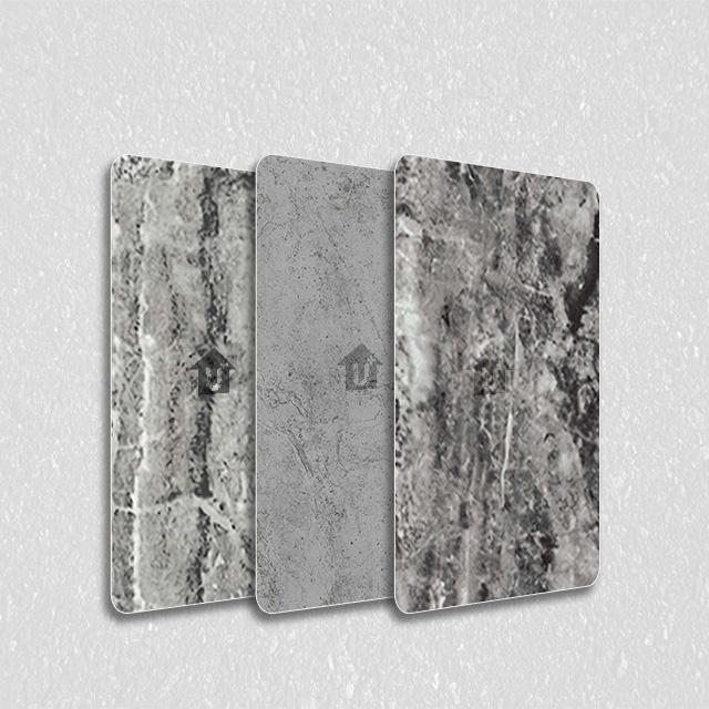 装饰彩涂钢铝卷大理石板-河北蓝天是国标金属印花涂覆膜彩涂单板复合板会议室大厅会所办公室彩板厂家