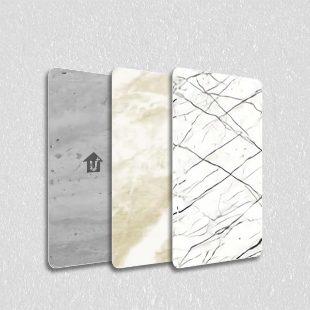 装饰彩涂钢铝卷大理石板-河北蓝天是国标金属雕花涂覆膜彩涂单板复合板会议室大厅会所办公室彩板厂家