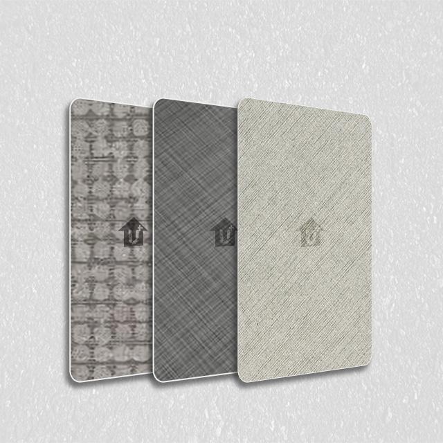装饰金属彩涂覆膜板-布纹系列
