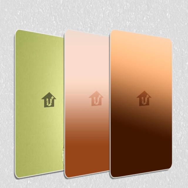 A2级防火金属铜复合板