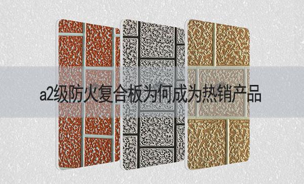 a2级防火复合板为何成为热销-河北蓝天u+金属装饰复合板厂家