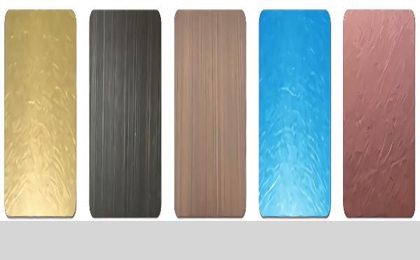 PVC PET材质金属覆膜钢板材料及用途-河北蓝天u+金属装饰复合板厂家