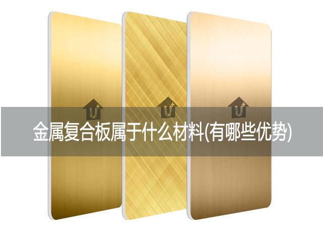金属复合板属于什么材料(有哪些优势)-河北蓝天u+金属装饰板厂家